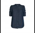 teresa denim skjorte - blue