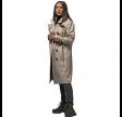 vigra regn frakke - beige