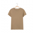 vegiflower t-shirt - camel