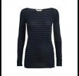 amalie bluse - blue-black