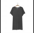 capiday t-shirt kjole - metal