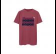 hawaii t-shirt - brick