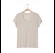 jacksonville t-shirt - creme melange