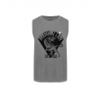 manhatten t-shirt uden ærmer - grey