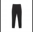 risse bukser - black