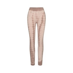 lena leggings - coublestone with taupe tie dye