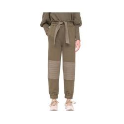 layla sweat pants - army
