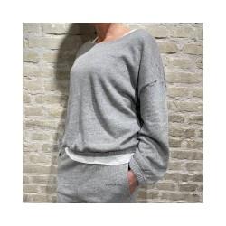 najabay sweat shirt - heather grey