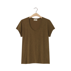 jacksonville t-shirt - asparagus