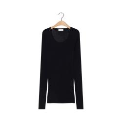 massachusetts bluse - black