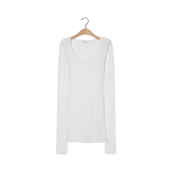 massachusetts bluse - white