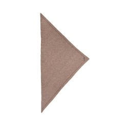 triangle solid logo m - stradivari dark brown melange